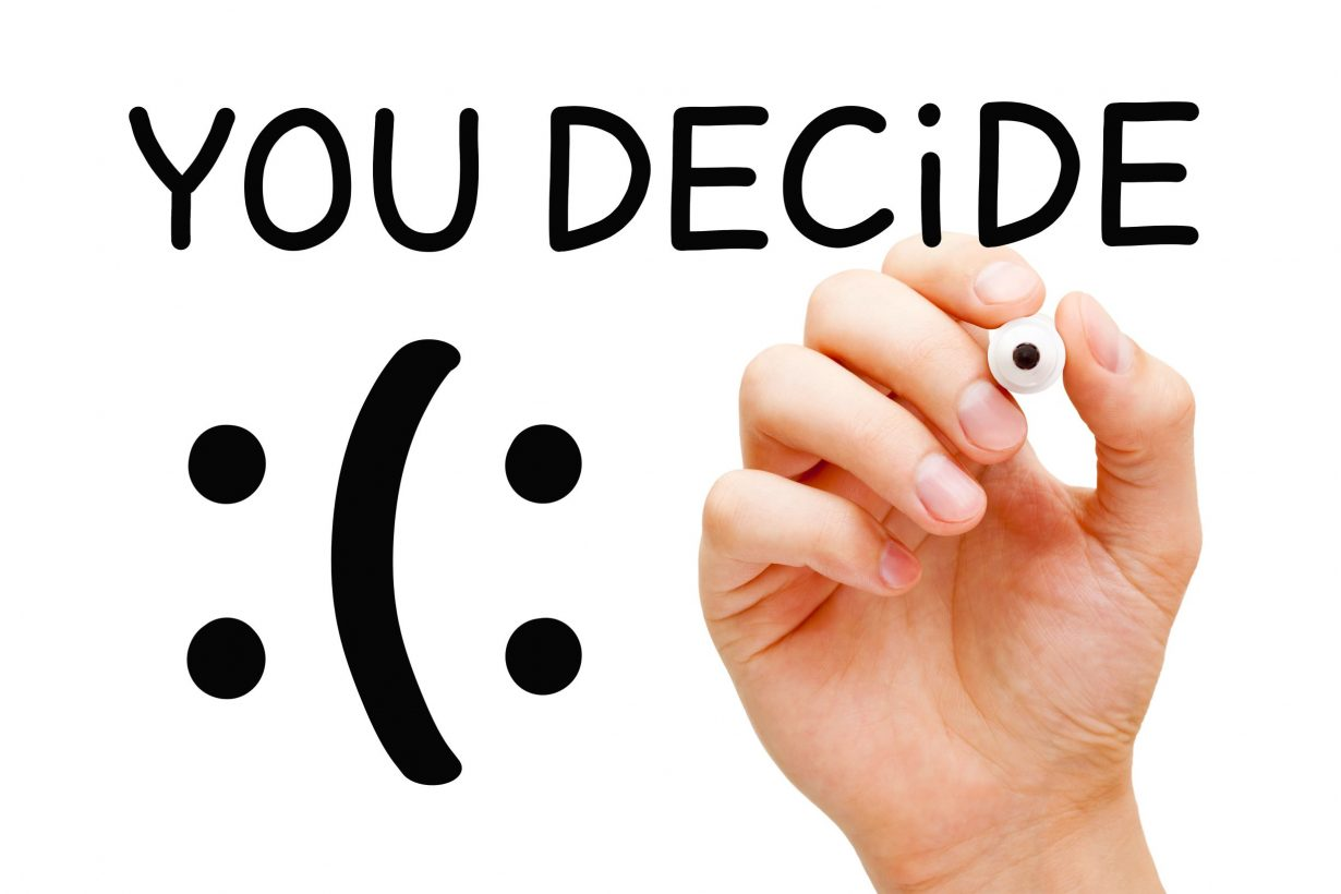 Choose How Happy You Want to Be
